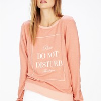 DO NOT DISTURB BAGGY BEACH JUMPER