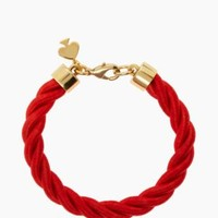 learn the ropes bracelet - kate spade new york