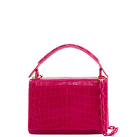 Nancy Gonzalez Medium Crocodile Top-Handle Bag