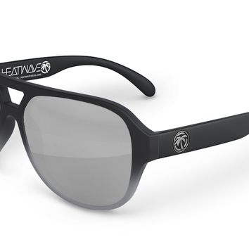 Supercat Sunglasses: Steel Gray Fader
