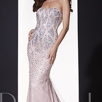 Open Back Strapless Sweetheart Dress by Panoply