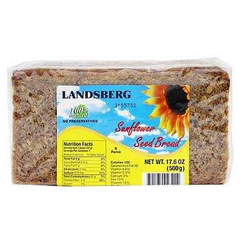 Landsberg Sunflower Seed Bread, 17.6 oz (500 g)