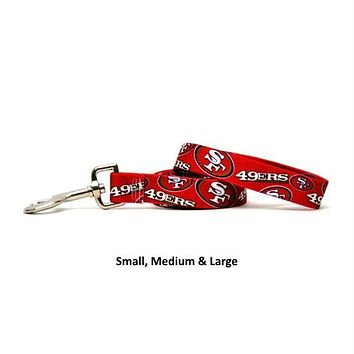 San Francisco 49ers Nylon Leash