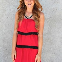 """Wreck Em' Tech"" Texas Tech University Game Day Dress"