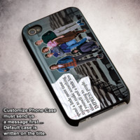 Breakfast Club Quotes - For iPhone 4/ 4S/ 5/ 5S/ 5SE/ 5C/ 6/ 6S/ 6 PLUS/ 6S PLUS/ 7/ 7 PLUS Case And Samsung Galaxy Case