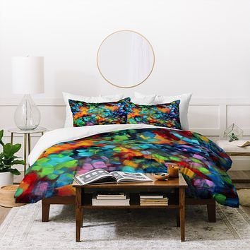 Madart Inc. Color Blast Duvet Cover