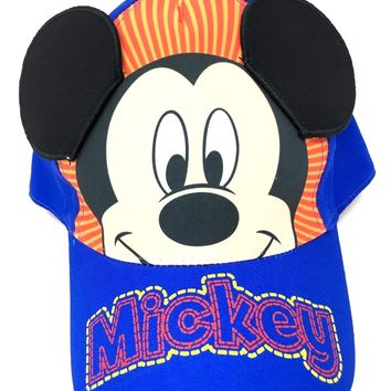 Mickey Mouse Little & Baby Boys Toddler Character Baseball Hat