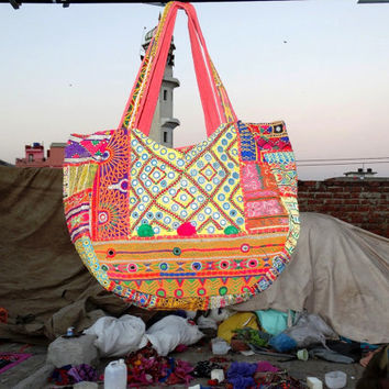 Hobo Banjara Bags tribel bags/ ethnic bags/ cotton bags/ antique bags coin bags gypsy bags patch work bags bohemian tote bags suzani bags