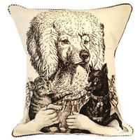 Ms. Poodle Pillow