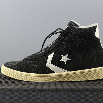 Converse Nonnative x Converse Pro Leather Hi Fashion Canvas Flats Sneakers Black