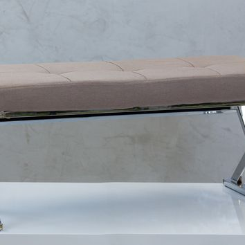 "39"" Reflections Bench - Cream"