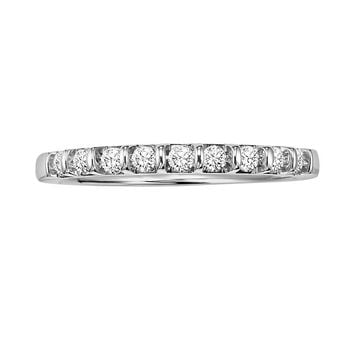 Cherish Always 10k White Gold 1/4-ct. T.W. Round-Cut Diamond Ring