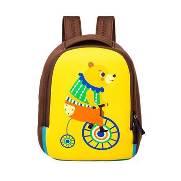 School Backpack trendy Cute Cartoon Rabbit Anti-lost Toddler School Bag Softback Mini Backpack for Kids Child Gift Kindergarten Boy Girl Animal Mochila AT_54_4