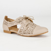 CARRINI Cutout Womens Oxford Shoes 239478426 | Shoes