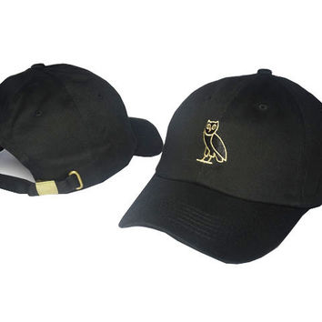 Drake OVO Owl Black Dad Hat