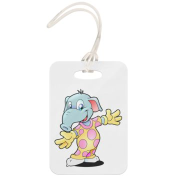 Elephant - Luggage Tag