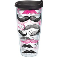 Tervis Mustache 24 oz. Tumbler with Lid