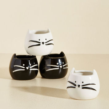 Cat's the Way I Like It Shot Glass Set