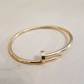 Authentic Cartier Just Un Clou (nail) bracelet