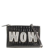 Al Ostoura | Moschino Cheap & Chic Small Wow Appliqué Shoulder Bag