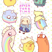 Adventure Time Jake the Dad Stickers