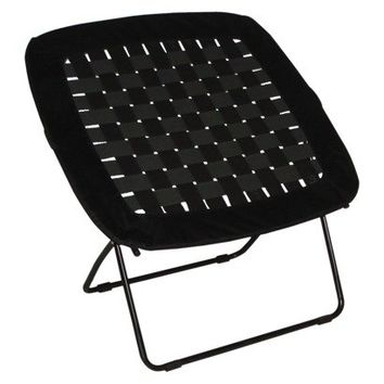 Room Essentials Black Waffle Chair