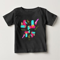Abstract Colorful Art Positive Vibes T-Shirt