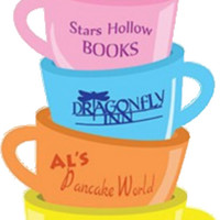 'Starshollow Mugs' Sticker by Caro Owens Designs