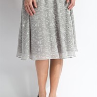 Evening Spotlight Skirt - Frost Grey