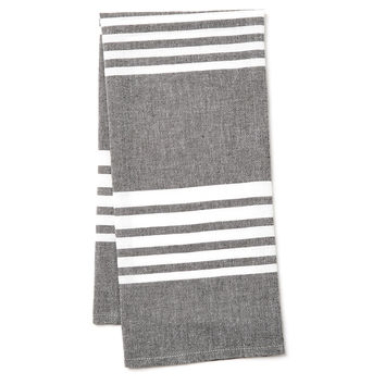 Bali Kitchen Towel, Slate, Tea towels & Dishtowels