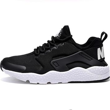 Nike Air Huarache Trending Women Men Casual Running Sports Shoes Sneakers Black I