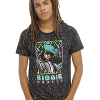 The Notorious B.I.G. Biggie Smalls Retro Splatter T-Shirt