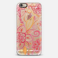 Watercolor Flowers iPhone 6 case by Li Zamperini Art | Casetify
