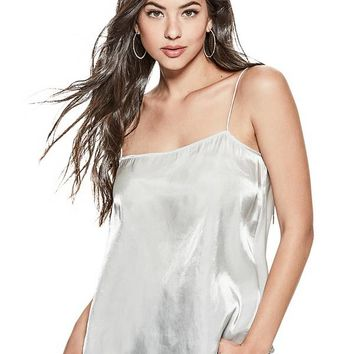 Amari Liquid Shimmer Top at Guess