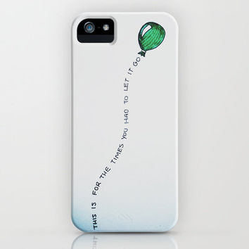 Let It Go iPhone Case by ZWAG | Society6