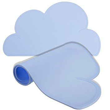 MWGears Cute Cloud Silicone Table Mat (Blue)
