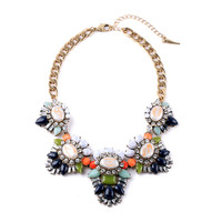 Heritage Blossom Statement Necklace