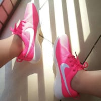 """NIKE"" Roshe One Women Casual Sport Shoes Sneakers Rose G"