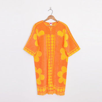 5f19df2298d9f orange cover up, floral cover up, terry cloth cover up, swim cov