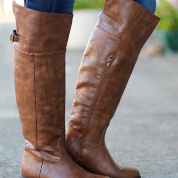 High Rider Boots {Tan}