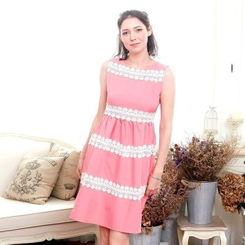Elegant embroidered dress (woman dress)