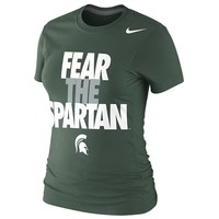 Nike Michigan State Spartans Local Tee - Women