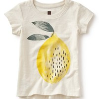 Tea Collection 'Limone' Graphic Tee (Toddler Girls, Little Girls & Big Girls) | Nordstrom