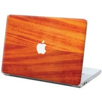 """African Mahogany """"Protective Decal Skin"""" for Macbook 15"""" Laptop"""