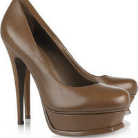 Yves Saint Laurent|Tribute leather pumps|NET-A-PORTER.COM