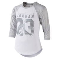 Jordan Flygirl Girls' Baseball T-Shirt, by Nike