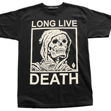 Long Live Death // Tee // Black | ACTUAL PAIN