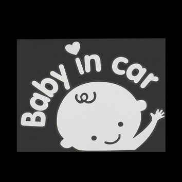 Baby-In-Car Car Sticker