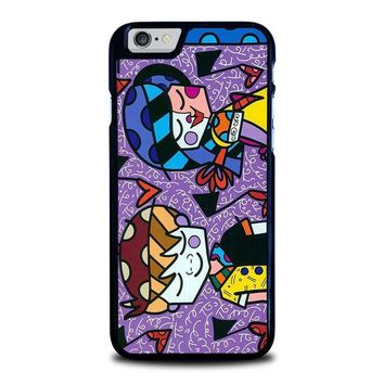 romero britto first love iphone 6 6s case cover  number 1
