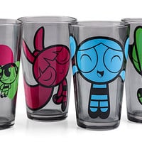 Powerpuff Girls Pint Glass Set